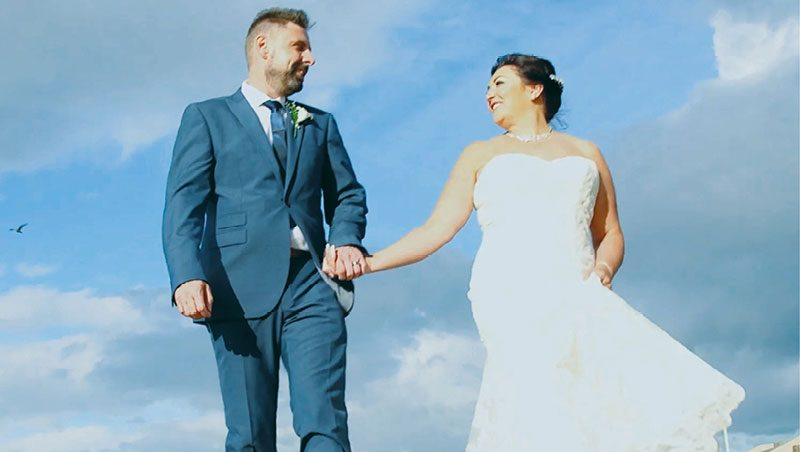 Deborah and Andrew Wedding Video Prestatyn - The Beaches 1