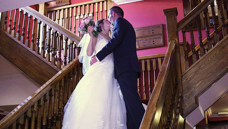 Stephanie and Arfon Wedding Video Caernarfon Celtic Royal Hotel 2